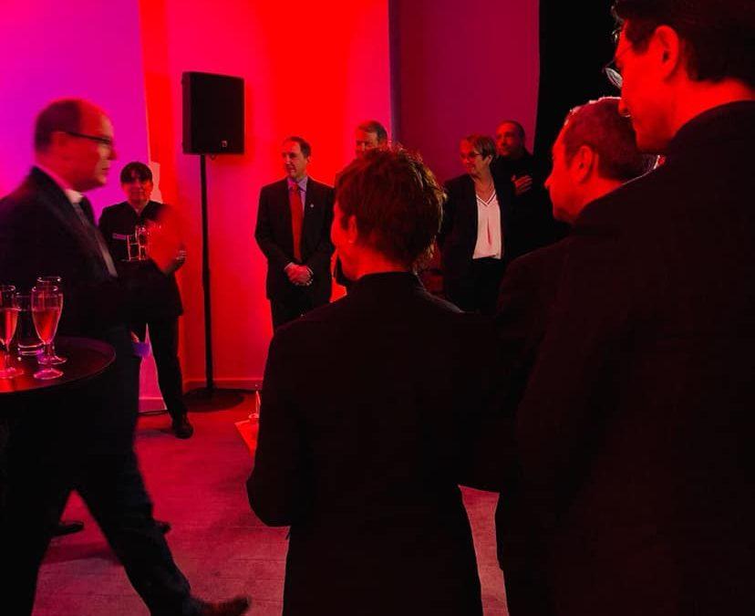Grace-Penn Medicine Fundraising Gala cocktail dinatoire en présence de S.A.S. le Prince Souverain