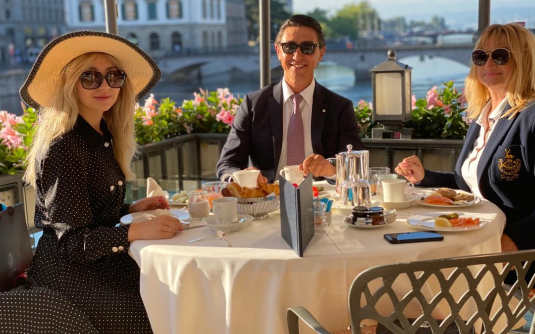 MonAsia en déplacement d'affaires à Zurich