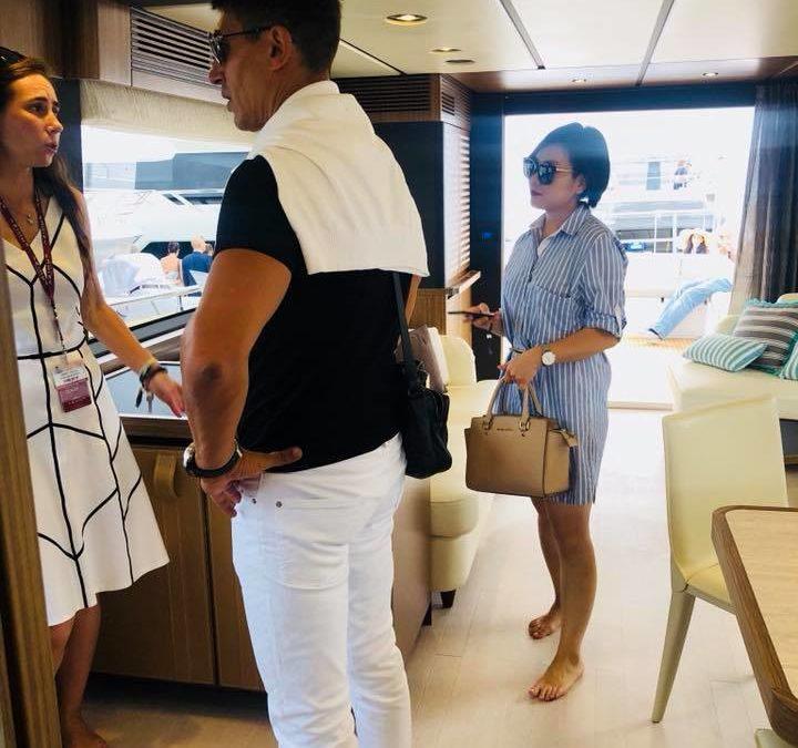 MonAsia s'est rendu au Cannes Yachting Festival pour aborder les enjeux économiques et environnementaux de la grande plaisance