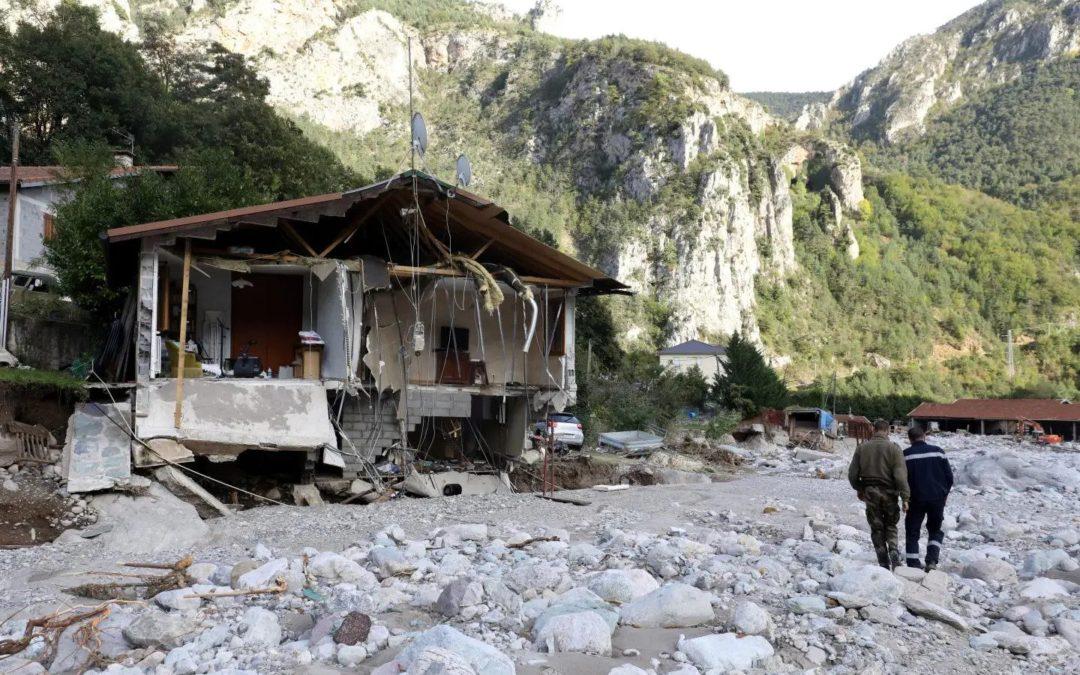Monaco accorde un soutien financier de quatre millions d'euros afin d'aider les vallées dévastées par la violente tempête Alex
