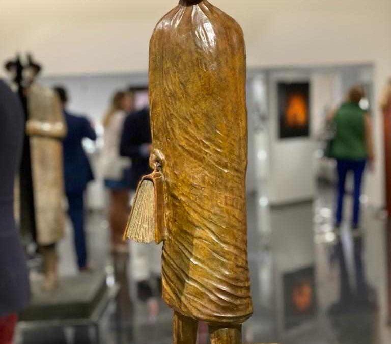 Visite privée de l'exposition Folon dans les Galeries Bartoux à Monaco