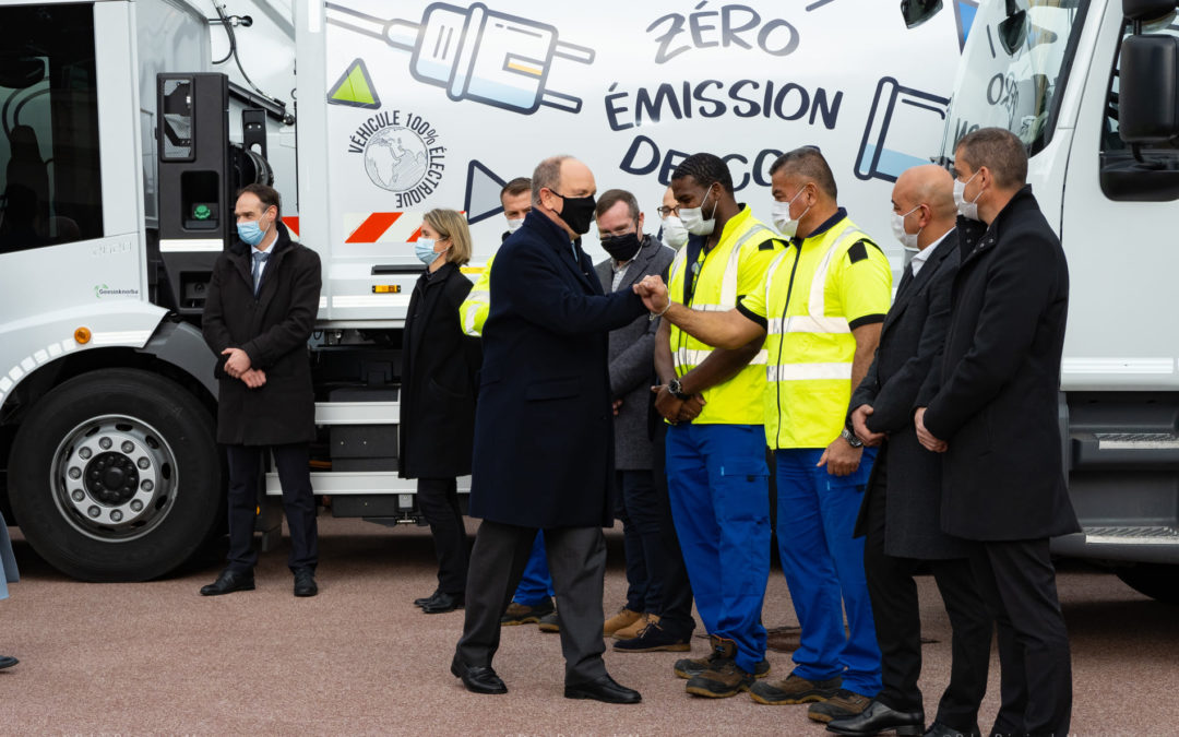 Présentation des nouveaux camions bennes 100% électriques