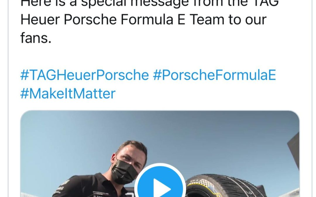 Porsche is committed to Formula E!