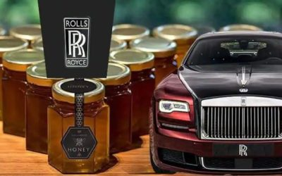 Rolls Royce recruits beekeepers in his famous Goodwood Apiary.